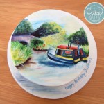 Hand Painted Narrow Boat