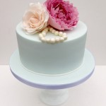 Flowers and beads Cake