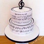 Music Birthday Cake